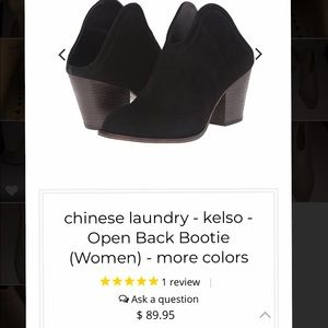 Chinese Laundry Shoes - CHINESE LAUNDRY beige openback camel booties 🐫 🤩